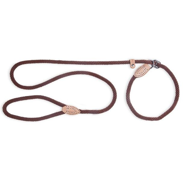 Slip Rope Lead Brown
