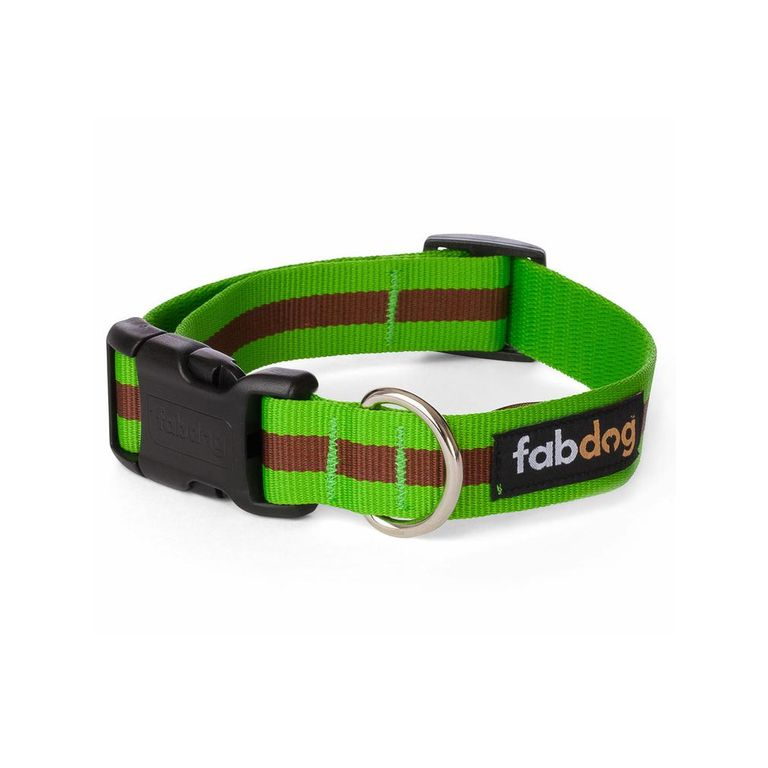 Green Stripe Collar