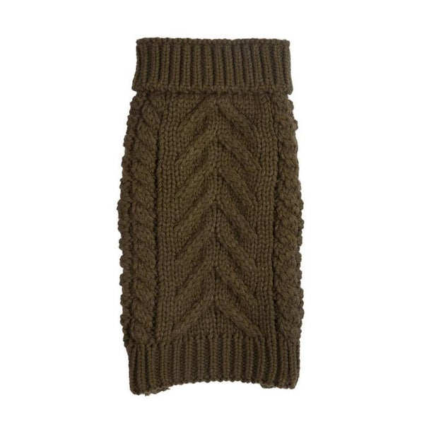 Olive Super Chunky Sweater