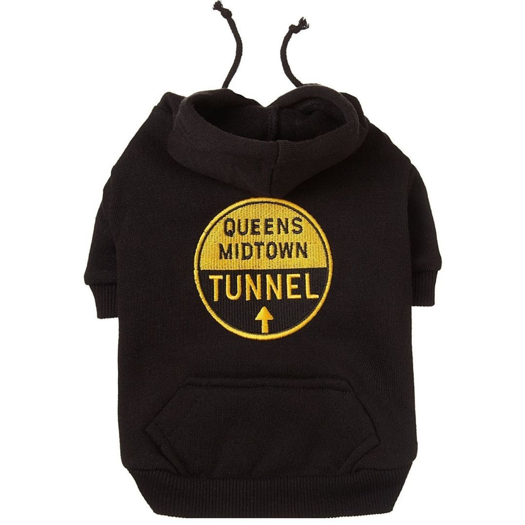 Black Queens Midtown Tunnel Hoodie