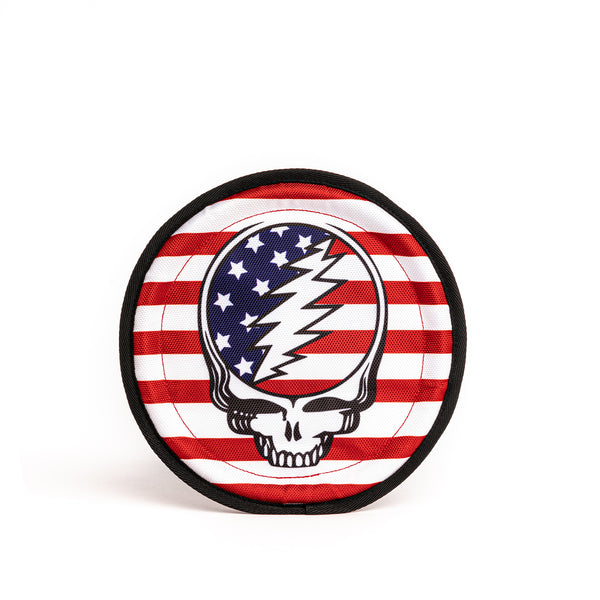 Grateful Dead Steal Your Face Frisbee