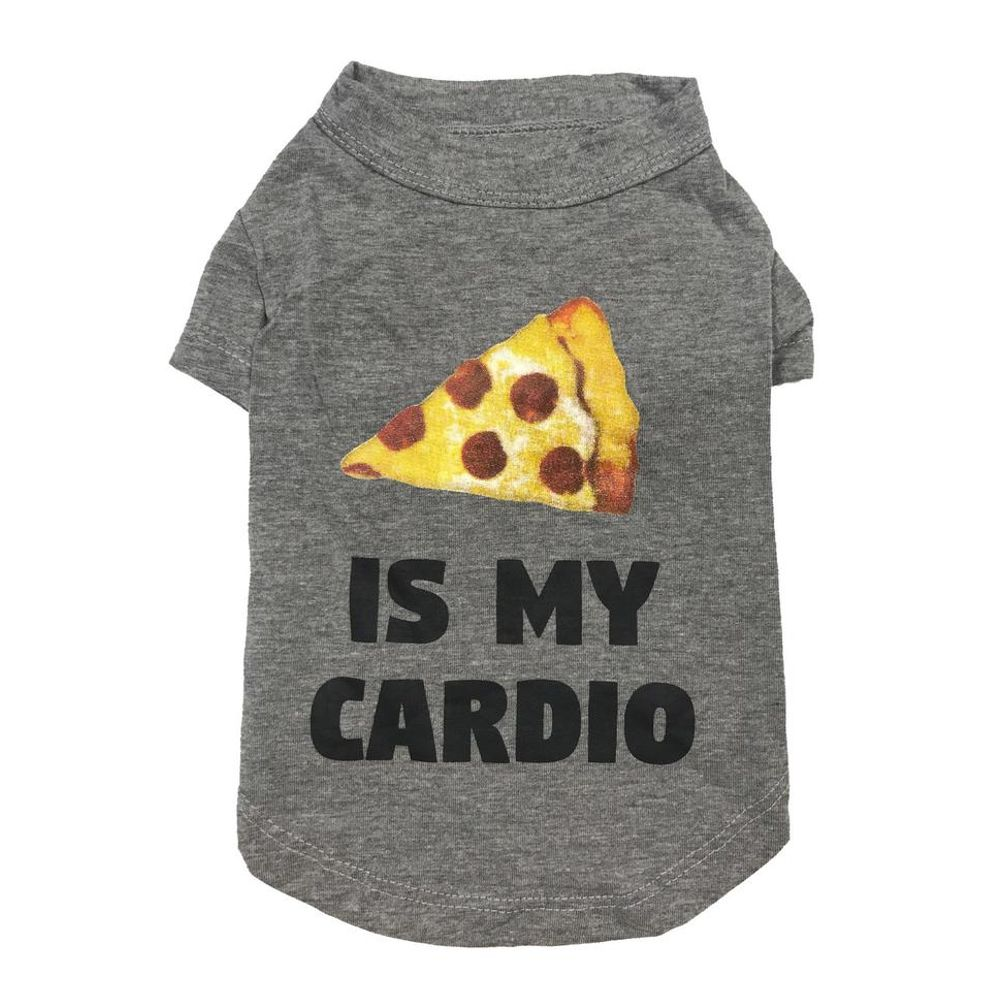 Pizza Is My Cardio T-shirt
