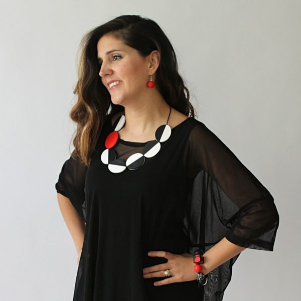 Double sided Carmen necklace - Sylca