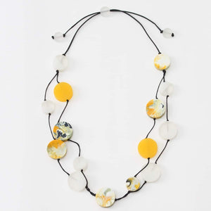Double Layer Helene Necklace - Sylca