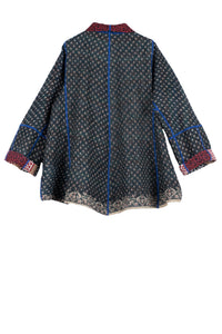 Vintage Cotton Flare Short Jacket - Mieko Mintz