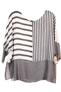 Stripe Crop Top #2625