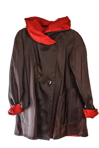 MycraPac Mini Jacket 72637 Red/Black