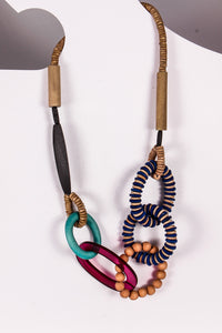 Sylca Tropical Loop Necklace