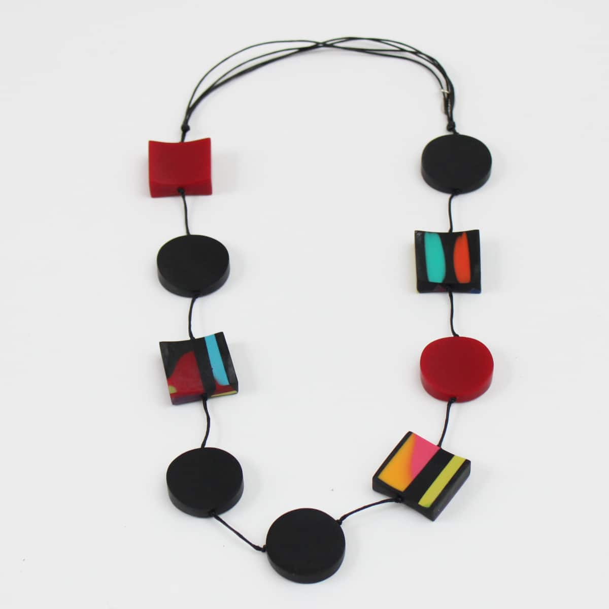 Marble Statement Necklace - Sylca