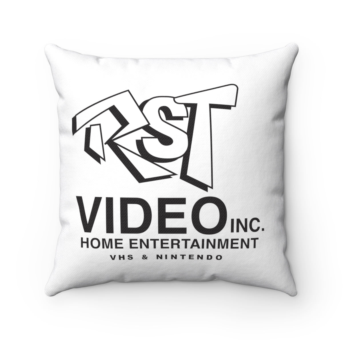 RST VIdeo Spun Polyester Square Pillow