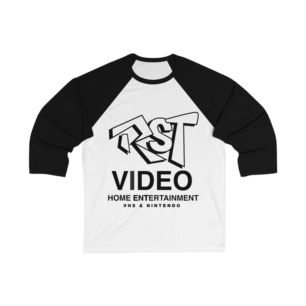 RST Video Unisex 3/4 Sleeve Baseball Tee