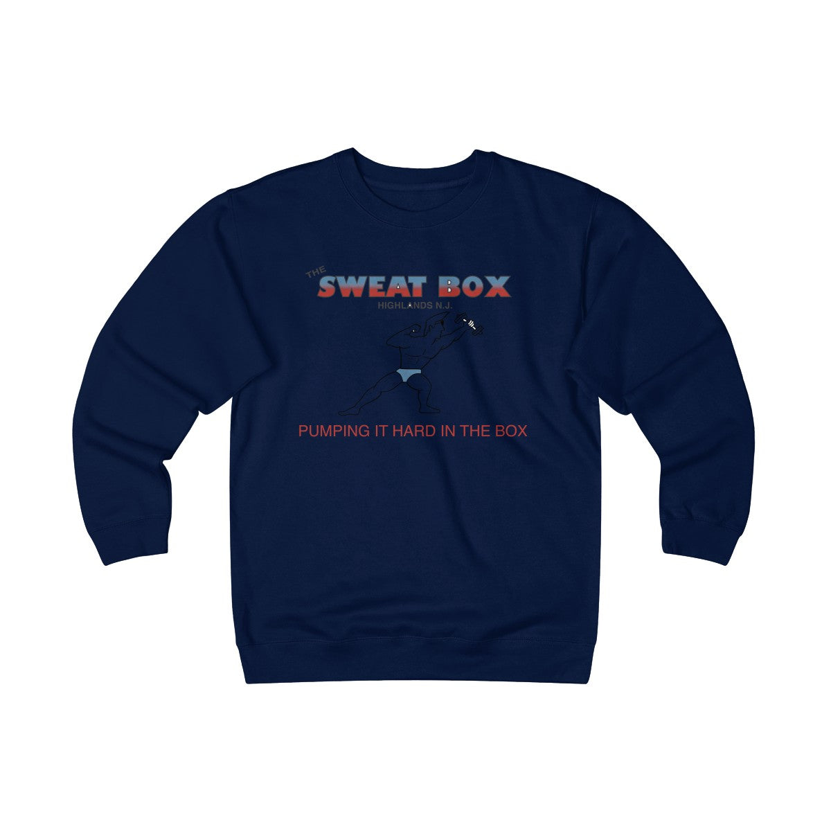 Rick Derris's Sweat Box Unisex Heavyweight Fleece Crew