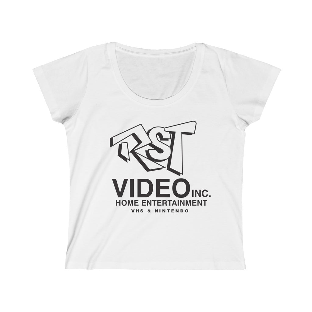 RST Video Women's Scoop Neck Tee