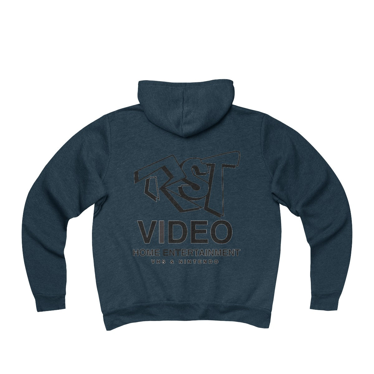 RST Video Unisex Sponge Fleece Full-Zip Hoodie