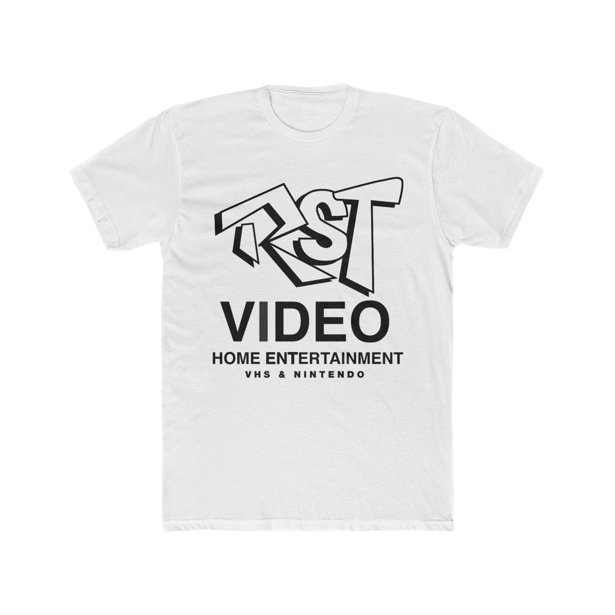 RST Video Men's Cotton Crew Tee
