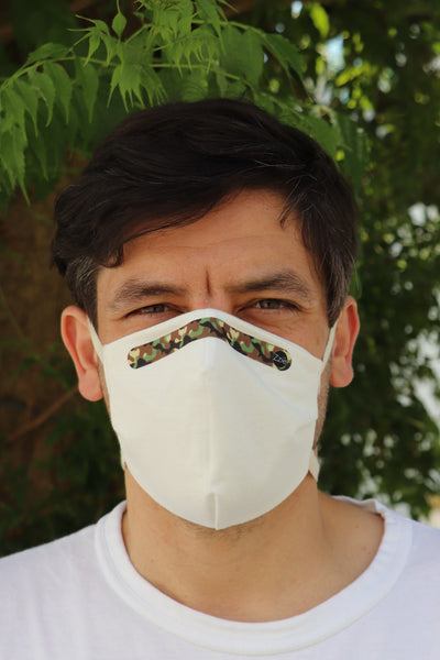reusable masks with ties