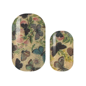 Vintage Butterfly Nail Wraps