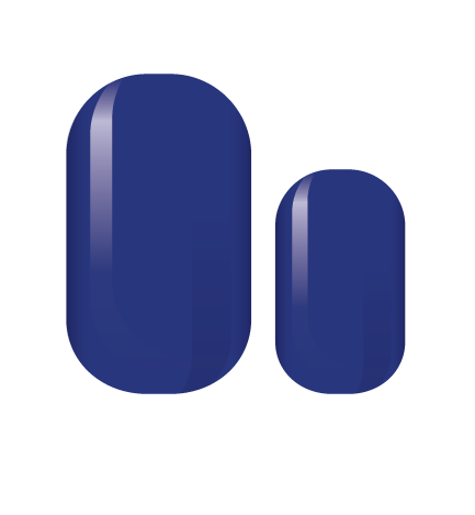 Royal Blue Nail Wrap