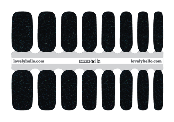 Midnight Sparkle Nail Wrap