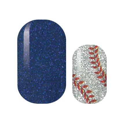 Play Ball Nail Wraps