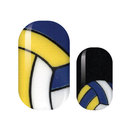 Bump, Set, Spike! Nail Wrap