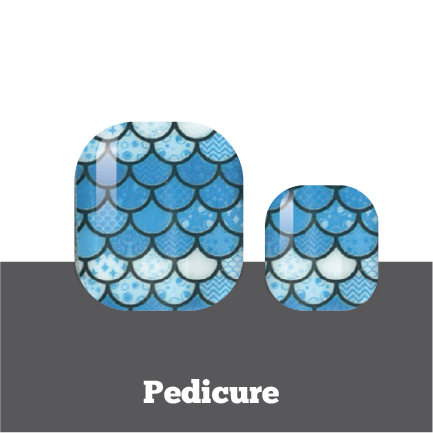 Depths of the Ocean Pedi Wrap