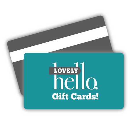 Lovely Hello e-Gift Card
