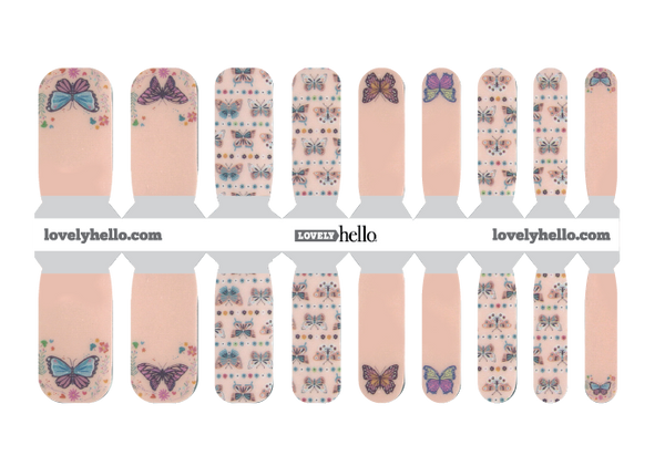 Fly Away Beauty MINI MANI Nail Wraps