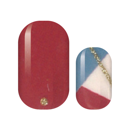 Patriot Glitz Nail Wraps