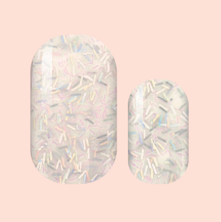 Ticker Tape Parade Nail Wraps