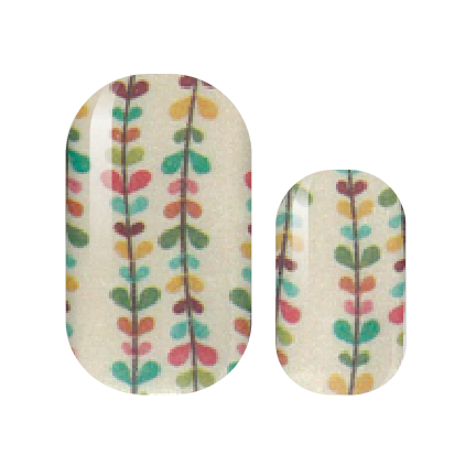 Wandering Vines Nail Wraps