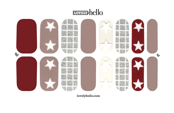 Lucky Star Nail Wraps