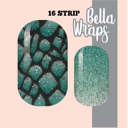 Bewitching Sea Serpent Nail Wraps