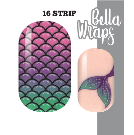 Just Keep Swimming Nail Wraps