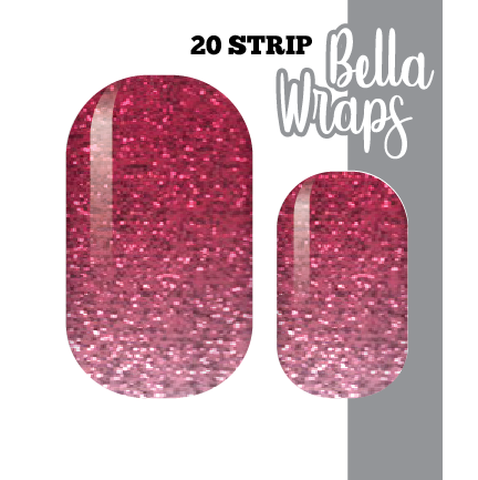 The Pinker the Better Nail Wraps