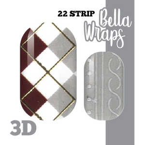 Elegant Sweater Nail Wraps