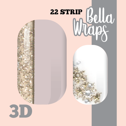 Star Dust Nail Wraps