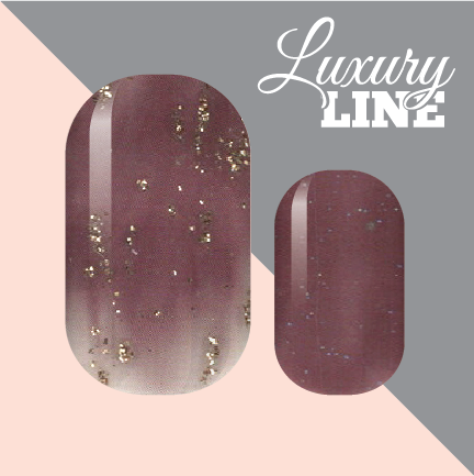 Merlot Glamour Luxury Nail Wraps