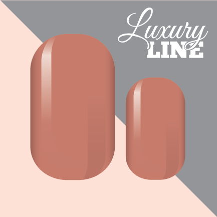 Beautiful Blush Luxury Nail Wraps