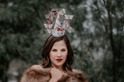 Adult Butterfly Fascinator