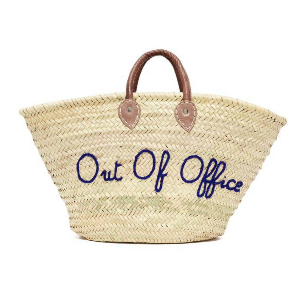 30 Custom Handmade straw bag with custom text