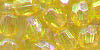 8 mm Acrylic Faceted AB Craft Bead - Colour 40AB (Yellow AB)