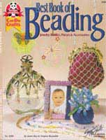 Best Book of Beading    (DO3298) by Janie Ray & Virginia Reynolds - 19 pages.