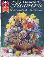 Beaded Flowers    (DO5124) by Susanne McNeill - 35 pages.