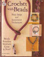 Crochet With Beads     (DO5267) by Hazel Shake - 35 pages.