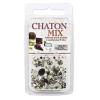 Crystal Clay - Chaton Mix - Black+White - 4 gramme pack