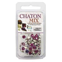 Crystal Clay - Chaton Mix - Pinks+Purples - 4 gramme pack