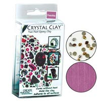 Crystal Clay - Fuchsia - 50 gramme pack