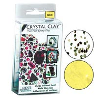 Crystal Clay - Gold - 50 gramme pack