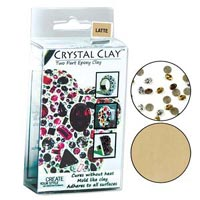 Crystal Clay - Latte - 50 gramme pack